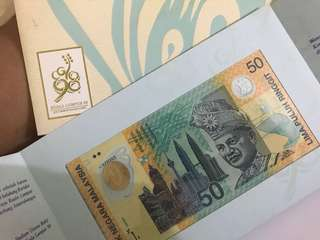 RM50 Malaysia Note