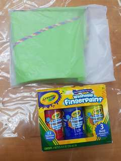 Crayola Color 3bottle + Free IKEA Kids Apron