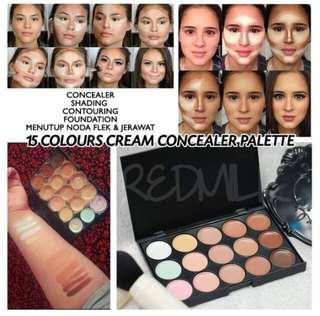 Palette consealer/contour 15 warna MAC