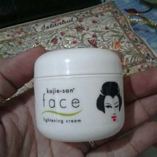 Kojie san lightening cream