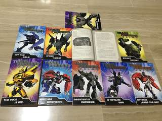 Transformers Prime (books for boys)