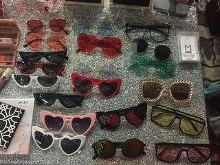 Sunglasses and shades