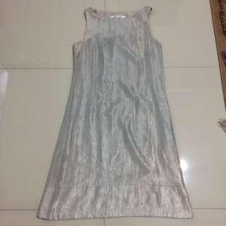 Metalic Korz Dress