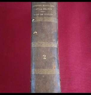 法國古董書 1861年