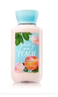 Pretty as a peach body lotion 88ml