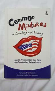 Common Mistake in Speaking and Writing English