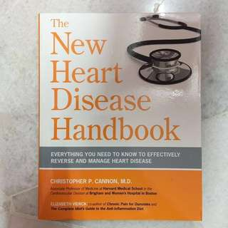 The New Heart Disease Handbook: Christopher P. Cannon, M.D.