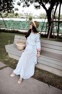 Bohemian dress ; vsm