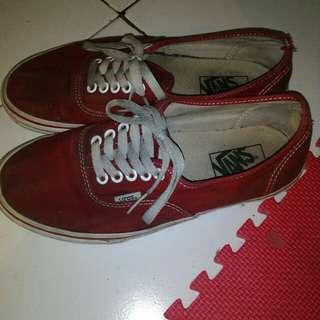 vans authentic red (original)