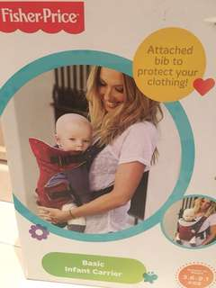 Infant baby carrier Fisherprice