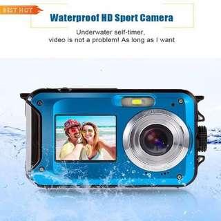 Bes double screen HD 24mp waterproof camera