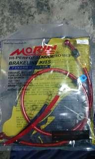 Morin Steel Braided Brake Line for Honda RS150