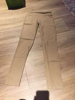 Khaki Brown Legging Pants