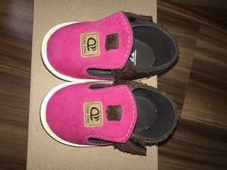 Punk Pink Baby Shoes