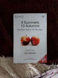 Novel 9 Summers 10 Autumns (Original) (free ongkir)