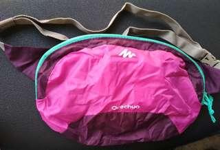 Waish Bag Quechua 2L PINK tas pinggang tas lipat
