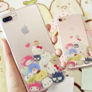 Sanrio透明全包Iphone case⭐️