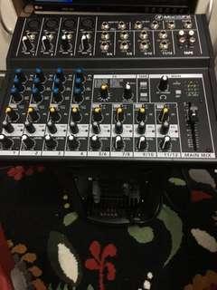 Mackle Mix 12FX and Studio Master Active speaker.