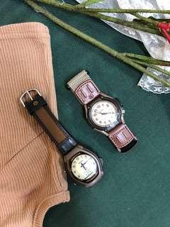 Casio 戶外專用 狩獵錶款 中性款式 帆布錶帶