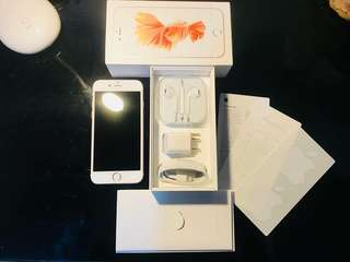 iPhone6s 128gb rosegold