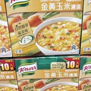 🚚 康寶金黃玉米濃湯10包入