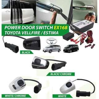 estima vellfire alphard power door button switch