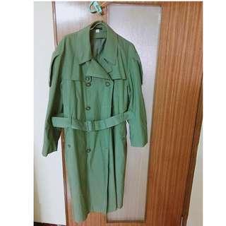 🚚 長版風衣外套