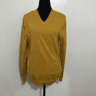 Yellow Cardigan/Pullover