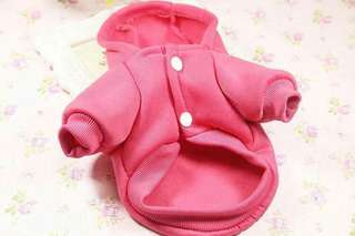 Pet clothes with hood