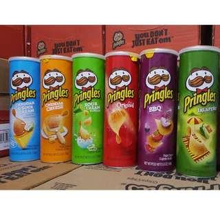 US Pringles Cheddar & Sour Cream