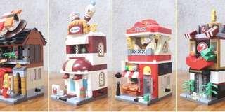 Little Mini Brick Shop - FRT541  Design: as attach photo