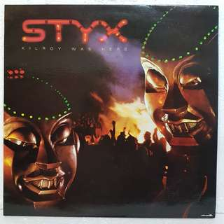 STYX - Kilroy Was Here  Vinyl Record