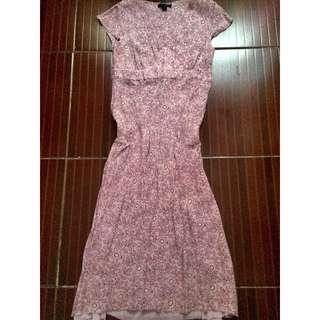 Boden Floral A-line  Maxi Dress