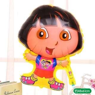 C166 birthday party foil balloon Dora