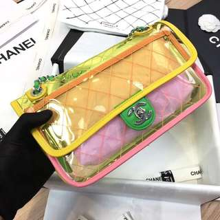 Chanel Flap 28cm 22cm PVC