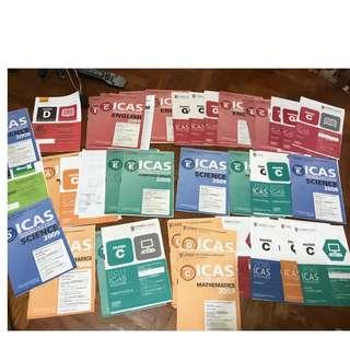 ICAS practice books