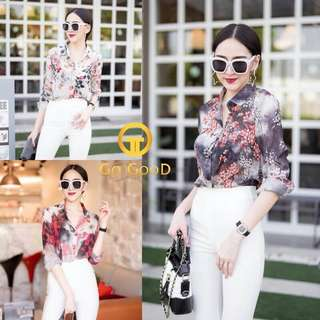 Floral top ; f@