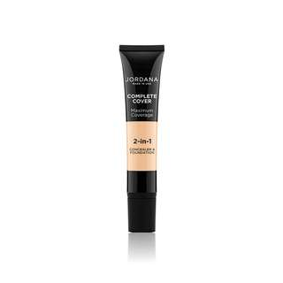 Jordana Complete Cover 2-IN-1 Concealer & Foundation