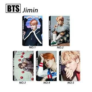 Jimin Lomo Card