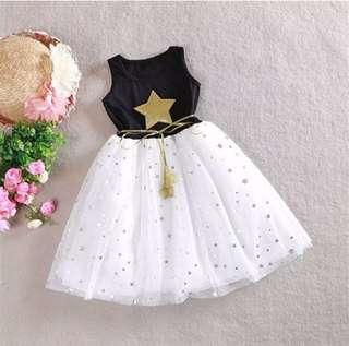 P/O girls tutu party dress