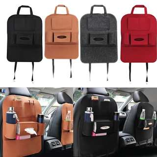 *PRE-ORDER* Car back seat storage bag. Passenger. Back seat box organizer.