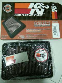 Honda odyssey rc1 K&N Drop-In filter