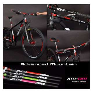 XM-AM Advanced Mountain Handlebar (Made in Taiwan) for Escooters /  MTB / DH / Bicycles
