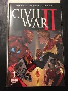 CIVIL WAR 2 #1