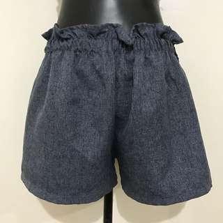 Denim-like Free size Shorts