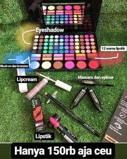 Paket lengkap makeup