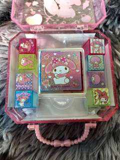 Authenthic My Melody Mini Stamping kit *Free postage*
