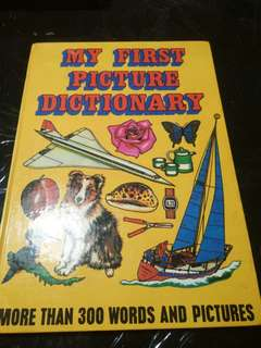 My First Picture Dictionary: More Than 300 Words & Pictures