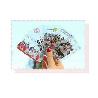 Twice Transparent Card