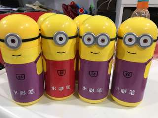 minions 24 color pen